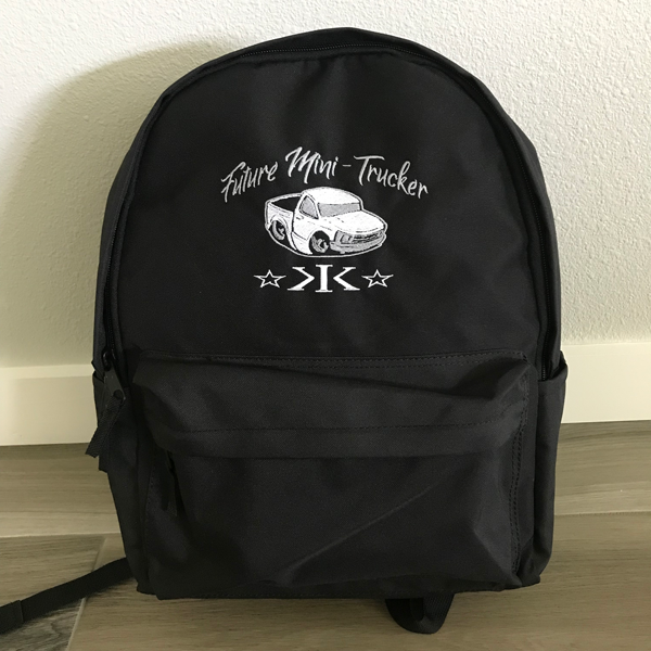 Backpack - 16x13x6 * Black