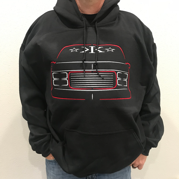 IN STOCK & READY TO SHIP * Pull-Over Hoodie * 5 Custom Designs